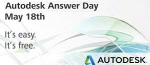 Gegužės 18 d. - atsakymai į klausimus AutoCAD, AutoCAD Civil 3D, Inventor, Revit, 3ds Max, Maya ir Vault programų naudotojams
