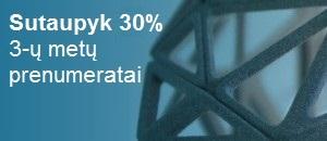 """""""Autodesk"""" programų 3 metų nuoma - 30 % pigiau"""