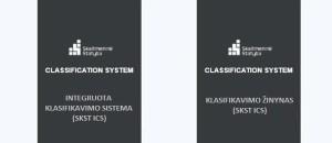 BIM klasifikavimo sistema ir klasifikatorių žinynas - nauji produktai Lietuvos skaitmeninei statybai
