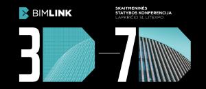 """Kviečiame į trečiąją konferenciją """"BIMLINK 2019""""!"""