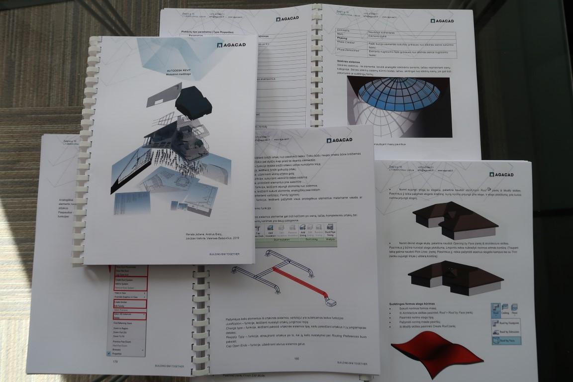 Autodesk Revit mokymų metodinė medžiaga | AGACAD mokymo centras
