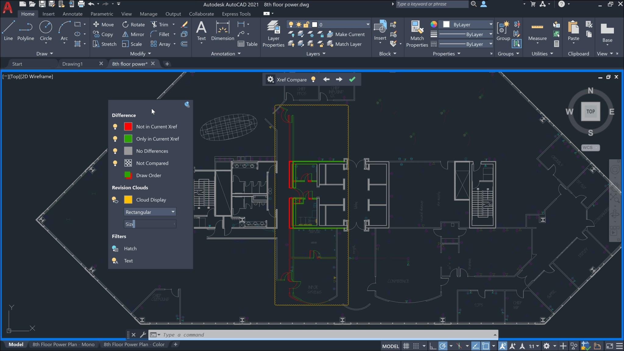 Civil 3D 2021 naujovė - xref, dwg compare| AGACAD