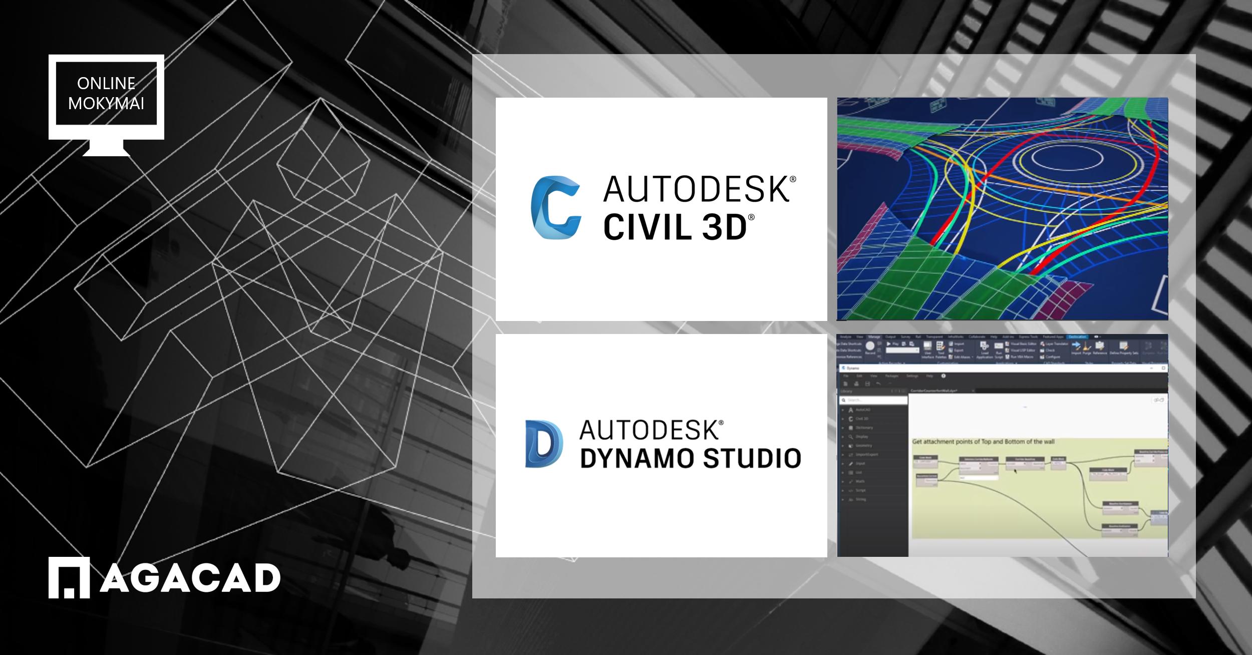Autodesk Civil 3D mokymo kursai pažengusiems | AGACAD mokymo centras