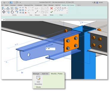 Plieno mazgų projektavimo patobulinimai Revit 2021 | AGACAD