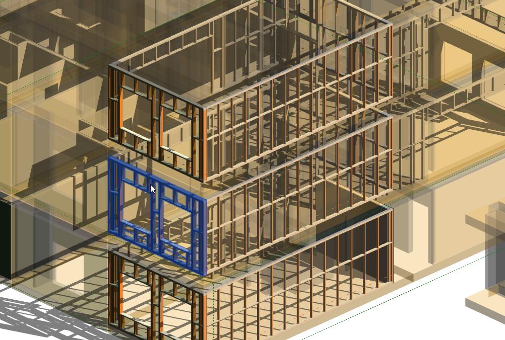 Medinio karkaso modulių kūrimas su Revit programine įranga ir Wood Framing įrankiais | AGACAD
