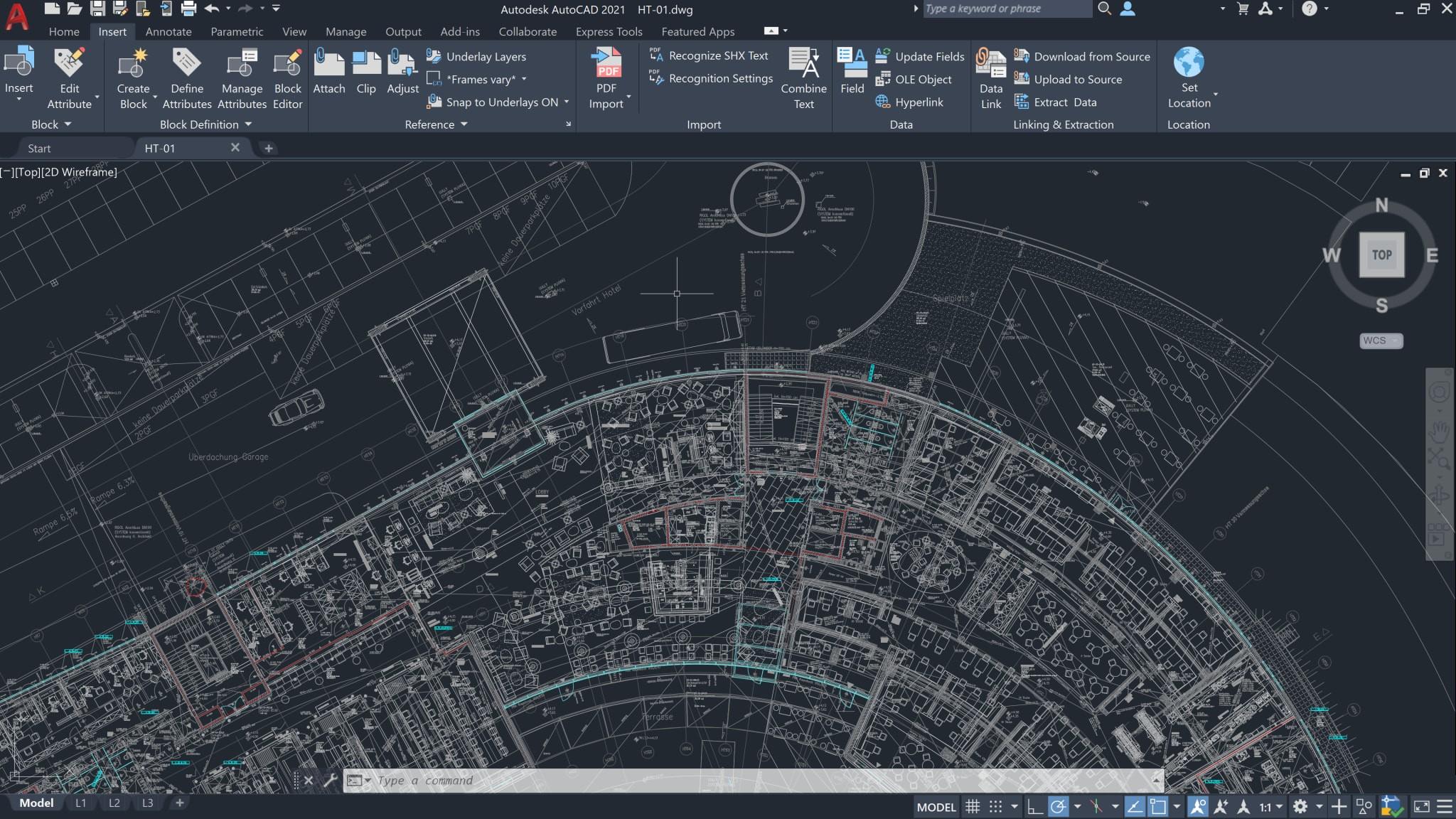 Autodesk Civil 3D grafinės komandos Pan, Zoom, Orbit, 3Dorbit | AGACAD