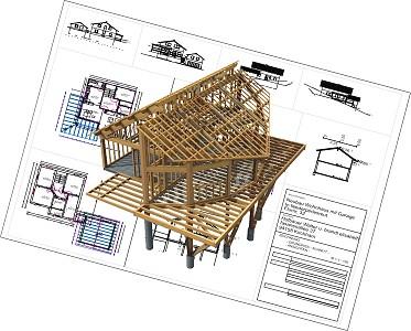 SEMA programinė įranga medinių namų projektavimui   AGACAD