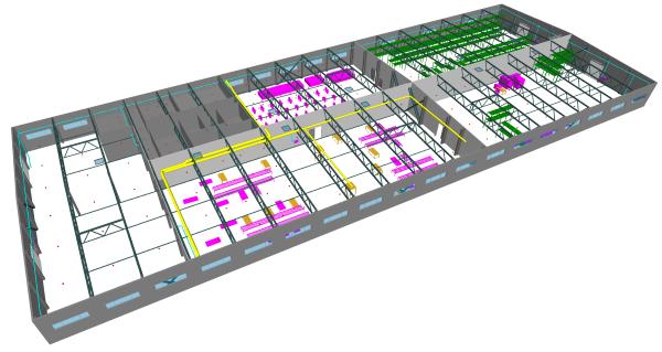 Nuskenuoto statinio 3D modeliavimas  AGACAD