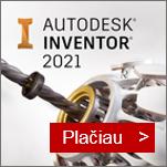Autodesk Inventor programinės įrangos atstovas Lietuvoje - AGACAD