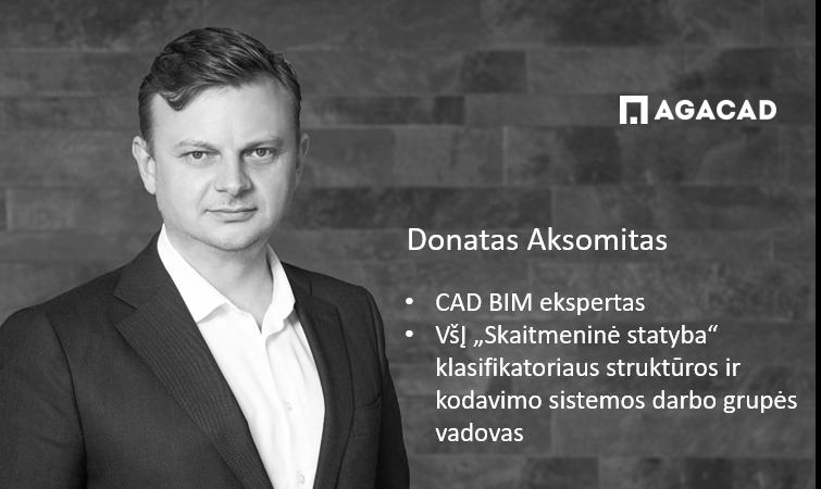 Donatas Aksomitas, BIM CAD ekspertas | AGACAD