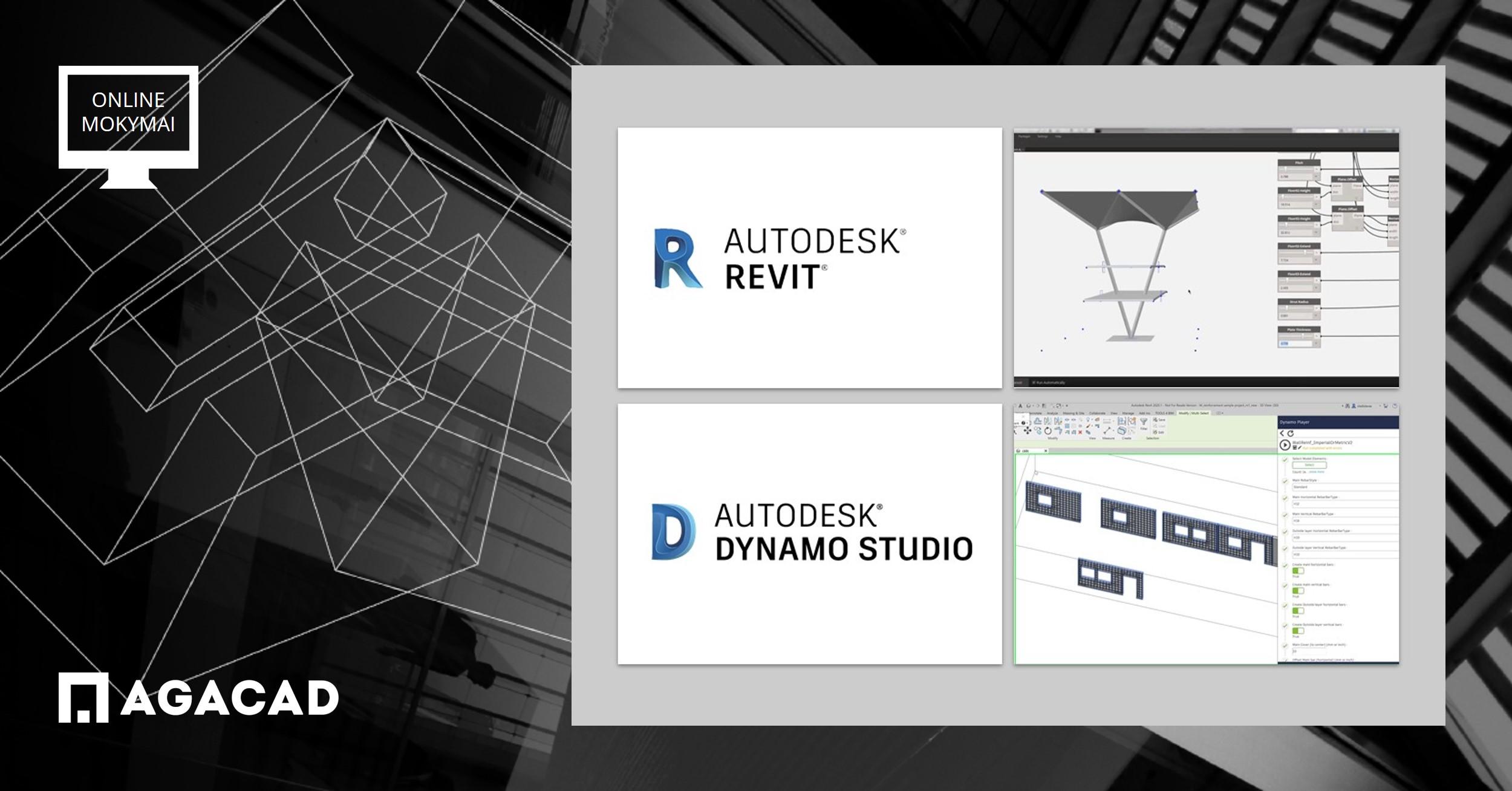 Autodesk Dynamo mokymo kursai| AGACAD mokymo centras