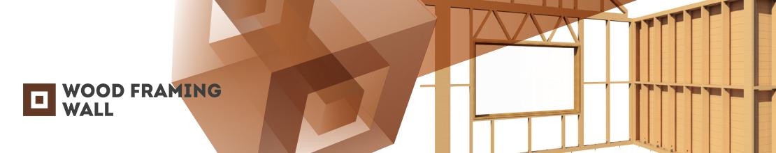 Wood Framing Wall sienų karkasų modeliavimas | AGACAD