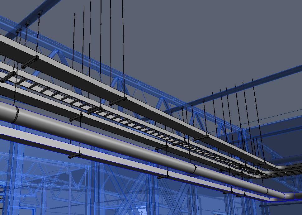 """Automatizuotas inžinerinių sistemų laikiklių išdėstymas """"Revit"""" modelyje   AGACAD"""