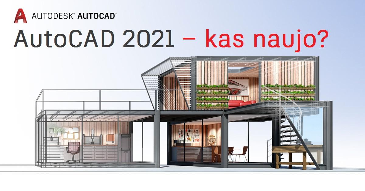 AutoCAD 2021 naujovės | AGACAD