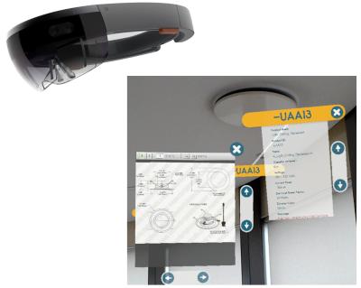 Virtualios realybės akiniai NT projektų apžiūrai   AGACAD