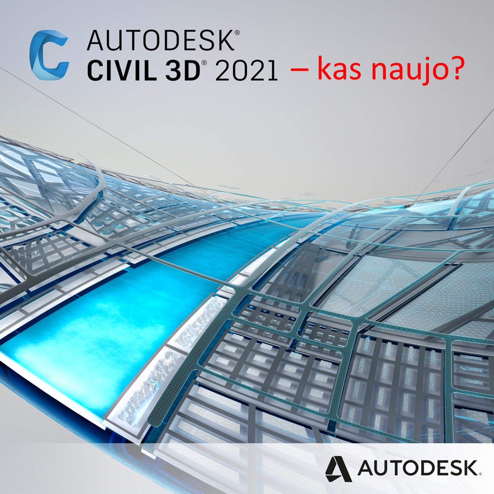 Autodesk Civil 3D 2021 naujoves | AGACAD